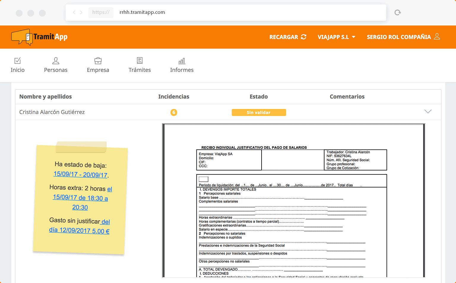 programa de nóminas online
