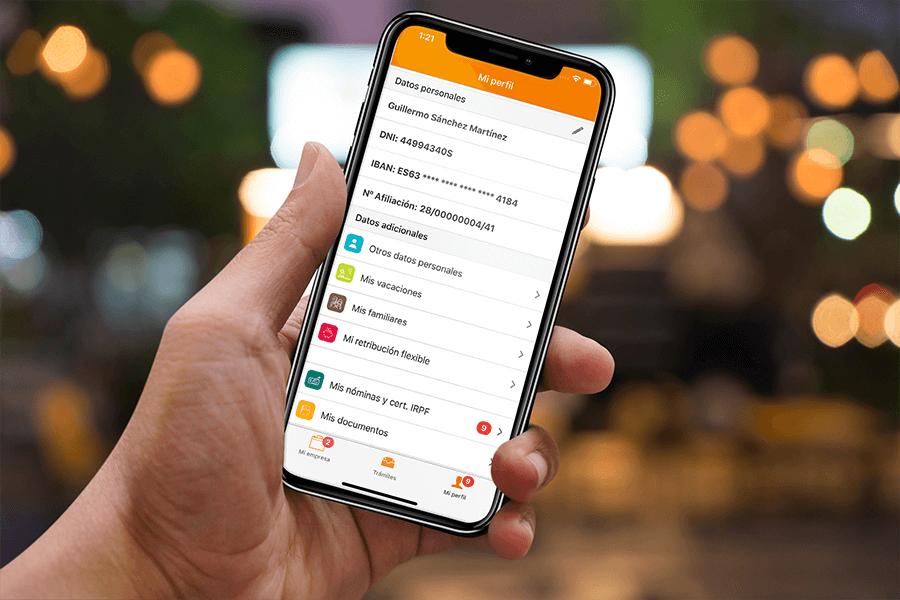 app del empleado