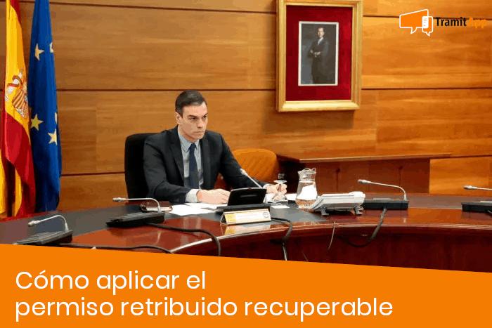 Cómo aplicar el permiso retribuido recuperable