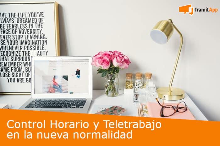 Control horario y teletrabajo en la nueva normalidad