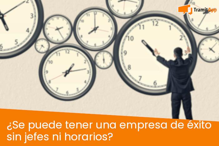¿Se puede tener una empresa de éxito sin jefes ni horarios?