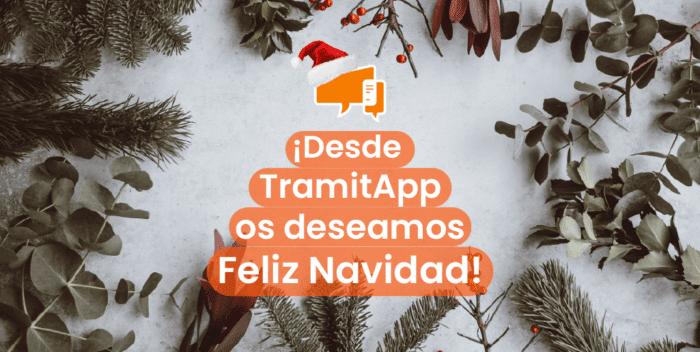 TramitApp Feliz Navidad