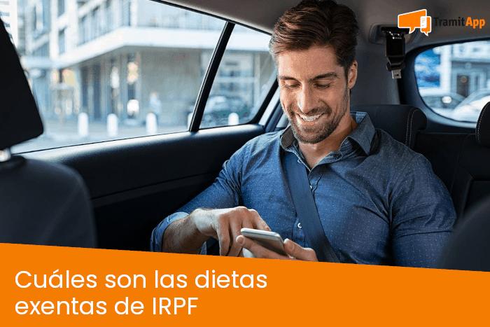 Cuáles son las dietas exentas de IRPF